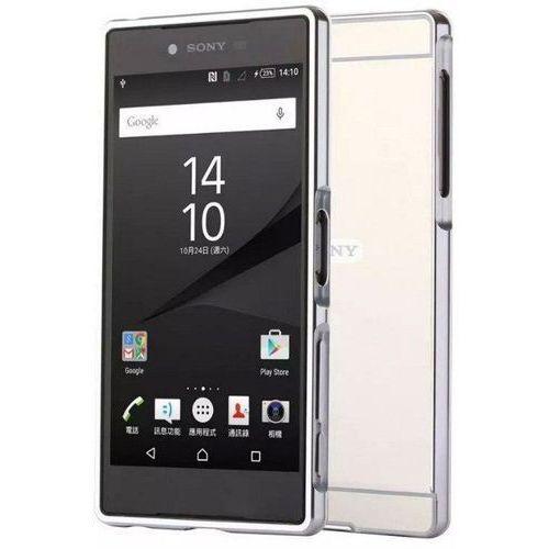 Bumper Metal Case Srebrny | Etui dla Sony Xperia Z5 - Srebrny