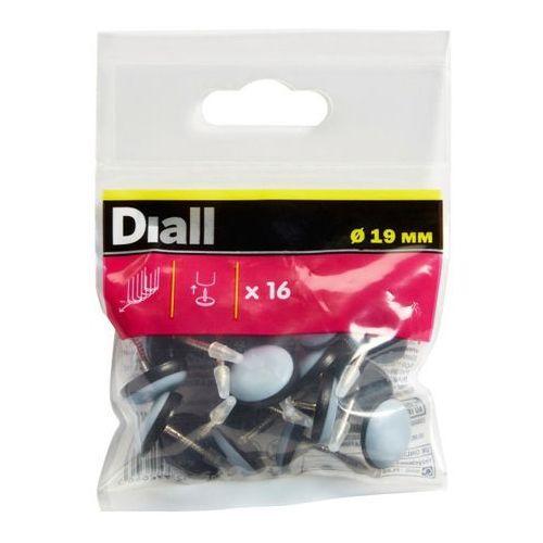 Diall Podkładki wbijane teflonowe 19 mm 16 szt.