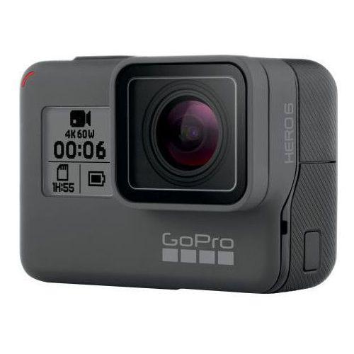 Kamera sportowa hero6 black, 4k, 60fps + akumulator gopro do kamery hero5 / hero6 black aabat-001 marki Gopro