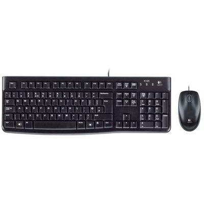 Logitech Klawiatura mk120 desktop (5099206020672)
