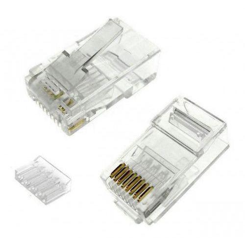 Wtyk modularny wm8p (8 styków) rj45 kat.6 marki Import