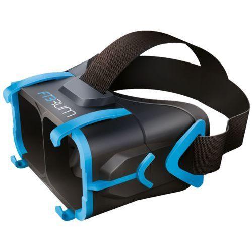 gogle wirtualnej rzeczywistości FIBRUM 3D VR czarne