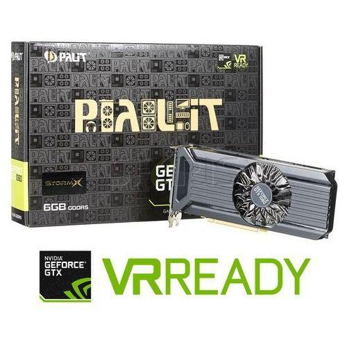 Karta graficzna PALIT GeForce® GTX 1060 6144MB DDR5/192b D/H/DP STORMX - NE51060015J9F