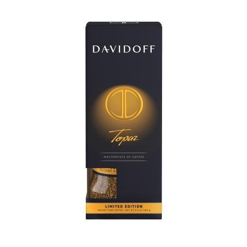 Davidoff cafe Kawa rozpuszczalna davidoff topaz edycja limitowana 100g