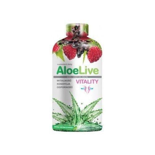 Aloelive vitality sok z aloesu 1000ml marki Laboratoria natury