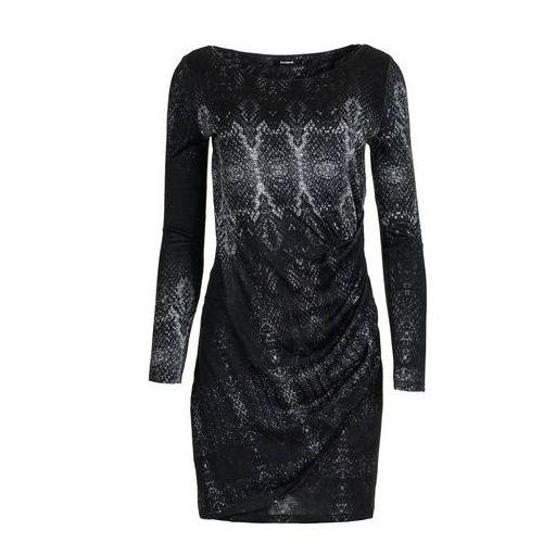 Desigual sukienka damska Bonnie M czarny (8434486237193)