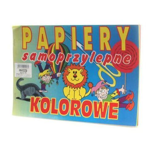 Zeszyt papierów kolorowych c5 samoprzylepny marki Poligraf