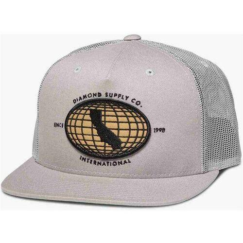 Diamond Czapka z daszkiem  - international snapback grey (gry) rozmiar: os