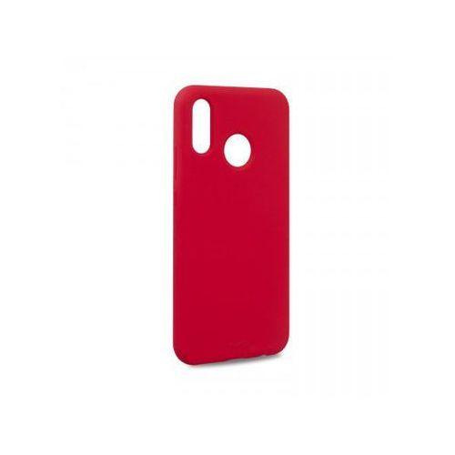 Etui ICON Cover do Huawei P 20 Lite czerwone, kolor czerwony