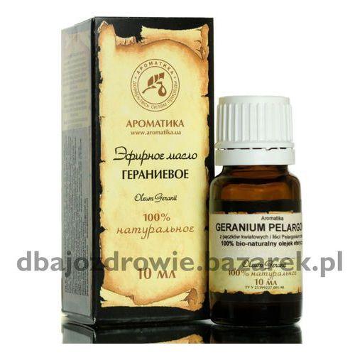 OLEJEK GERANIOWY (GERANIUM, PELARGONIUM), 100% NATURALNY, 10 ml