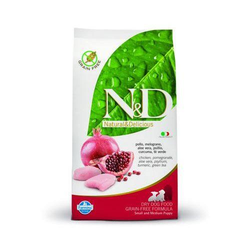 Farmina Nd mini medium puppy grain free 12kg chicken pomegranate natural & delicious bez zbóż bezzbożowa n&d (8010276020086)