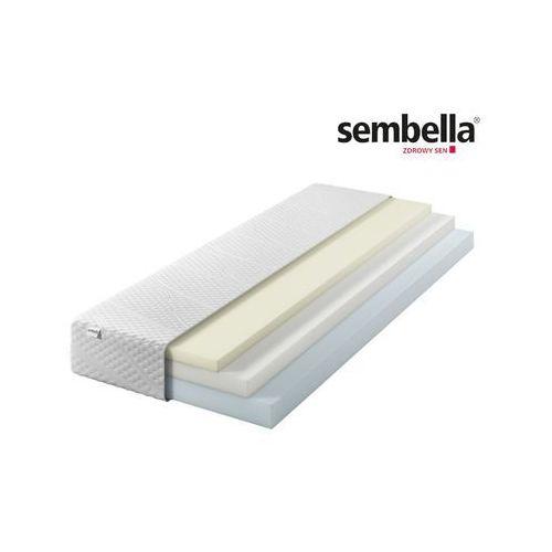 modulia cloud – materac termoelastyczny, piankowy, rozmiar - 140x200 wyprzedaż, wysyłka gratis marki Sembella