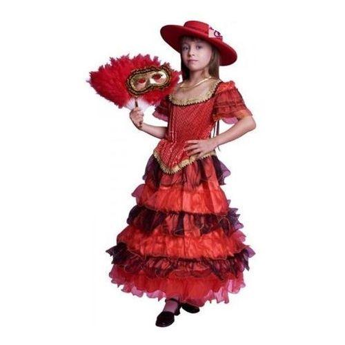 Hiszpanka Lux - kostium, przebranie dla dzieci, - 134 - 140 cm - sprawdź w wybranym sklepie