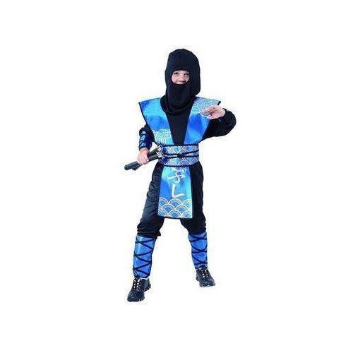 Go Kostium ninja niebieski - s - 110/120 cm