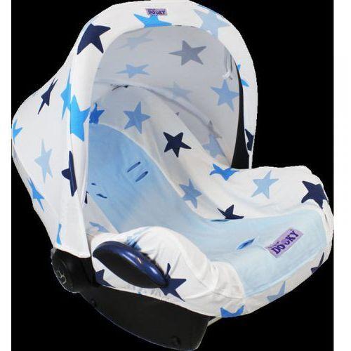 Pokrowiec do fotelika Dooky Seat Cover Blue Stars