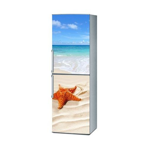 Mata magnetyczna na lodówkę - rajska plaża 4178 marki Stikero