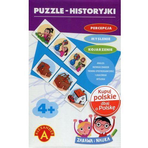 Alexander Puzzle historyjki zabawa i nauka