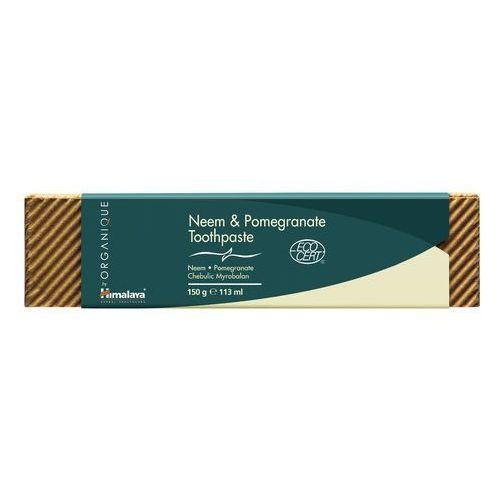 Himalaya herbals pasta do zębów organiczna ekocert 150 g