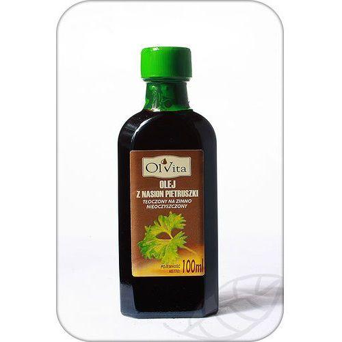 Olej z nasion pietruszki tłoczony na zimno nieoczyszczony 100ml - Olvita
