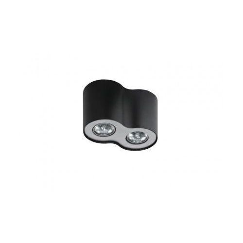 Azzardo Plafon lampa sufitowa neos 2 2x50w gu10 czarny/aluminiowy fh31432b (5901238406099)
