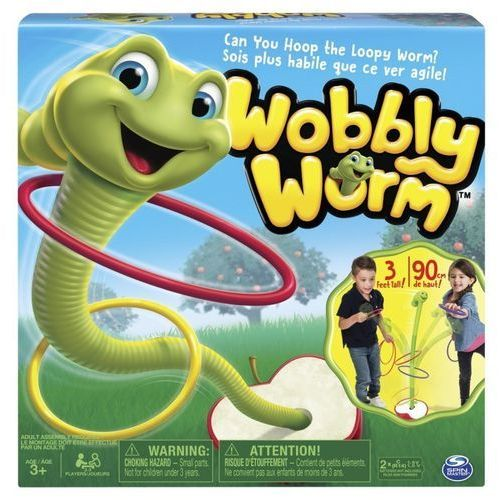 Spin master Gra - tańczący robak