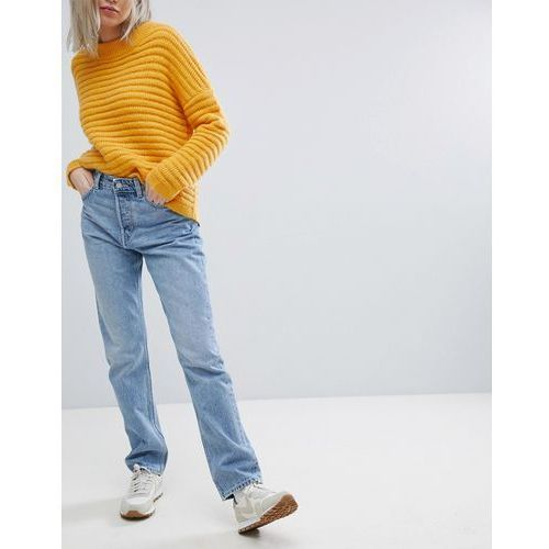 Weekday Line Vintage Look Straight Leg Jean - Blue, proste