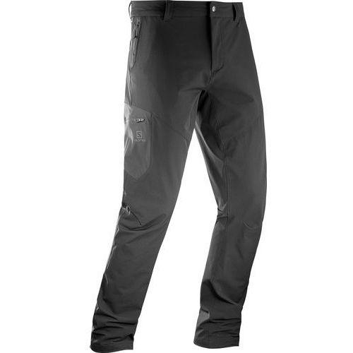Salomon Wayfarer Utility Spodnie długie Mężczyźni czarny 50 2017 Spodnie turystyczne, kolor czarny