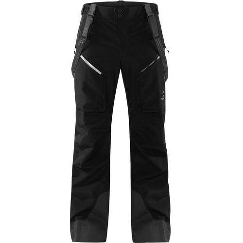 Haglöfs Chute Spodnie długie Kobiety czarny XL 2018 Spodnie przeciwdeszczowe (7318841145594)