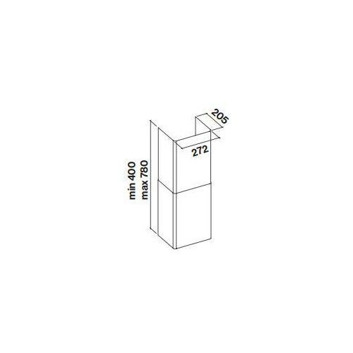 Komin Falmec Tab 60/80 - Biały - Specjalistyczny sklep - 28 dni na zwrot - Raty 0%