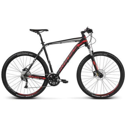 "Unibike Rower Kross LEVEL 3.0 27.5"" czarno - czerwono - srebrny mat"