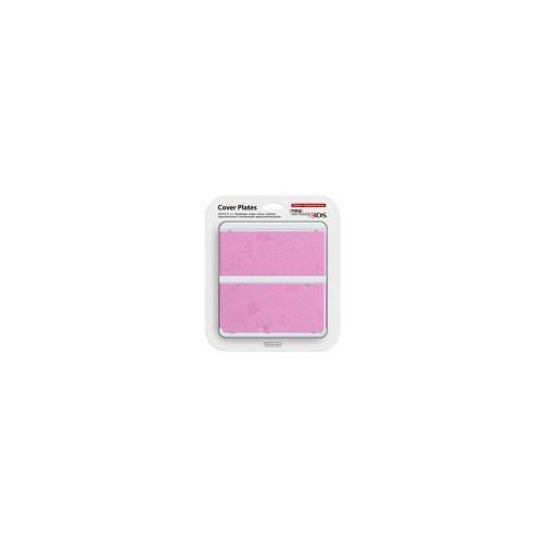 New 3DS Cover Plate Pink