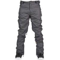 spodnie SESSIONS - Hammer Stretch Denim Pant Black Denim (BKD), kolor czarny