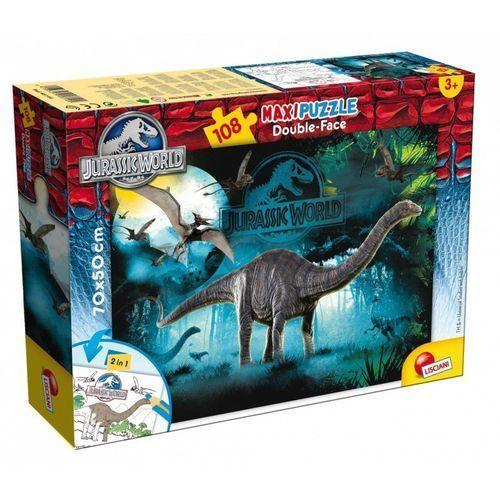 Puzzle dwustronne 108 Jurassic World, 8008324048670_810986_001