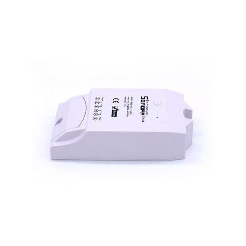 Przekaźnik sterowany Wifi z funkcją pomiaru temperatury oraz wilgotności Sonoff TH16 (6920075700954)