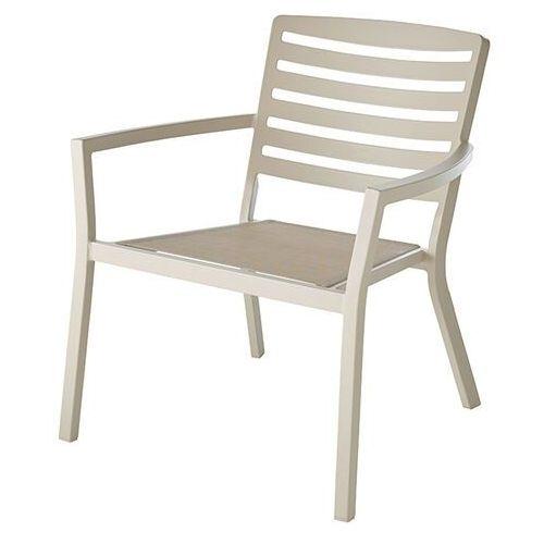 Goodhome Krzesło mikyo beżowe (5059340124810)