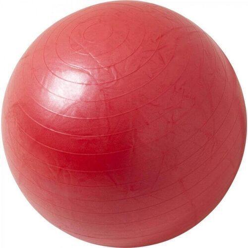 Gorilla sports 65cm piłka fitness gimnastyczna rehabilitacyjna czerwona (4260438733512)