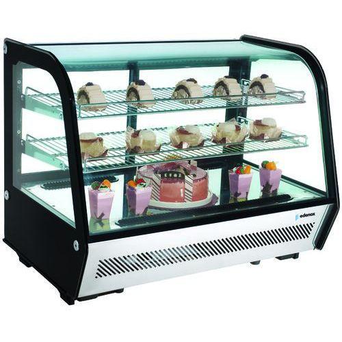 Witryna ekspozycyjna chłodnicza 120 l, 700x570x633 mm | , vers-120 marki Edenox