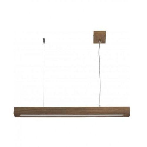 Sigma Futura Lux Wood Low 90 32959 lampa wisząca zwis 1x18W LED orzech, 32959