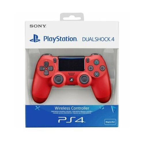 Sony Playstation 4 Dualshock v2 - Red - Gamepad - Sony PlayStation 4