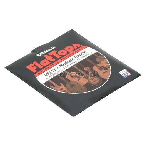 D′Addario EFT-17 Flat Top struny do gitary akustycznej 13-56 z kategorii Gitary akustyczne i elektroakustyczne
