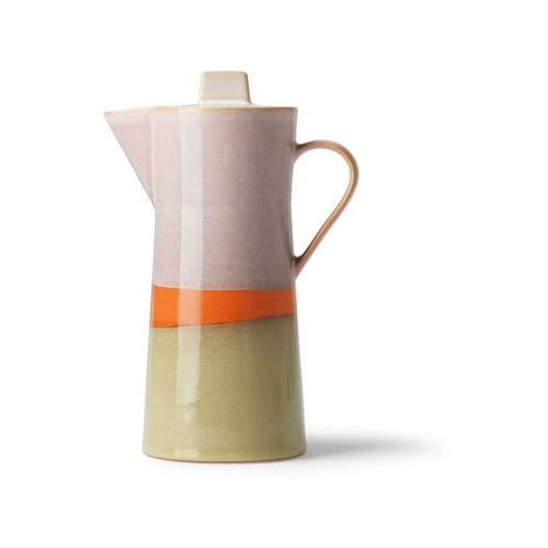 HK Living Ceramiczny dzbanek do kawy 70's ACE6912 (8718921034852)