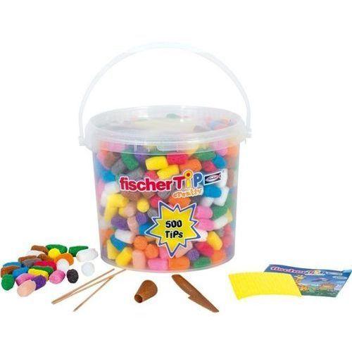 Fischer TiP 500 do kreatywnych zabaw dla dzieci, chrupki kukurydziane do zabawy
