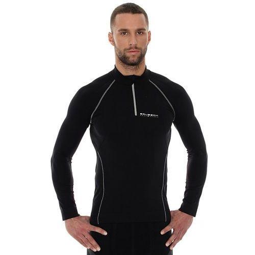 active ls01060 - męska bluza (czarny-szary) marki Brubeck