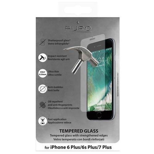 PURO Szkło ochronne hartowane na ekran iPhone 8 Plus / 7 Plus / 6s Plus / 6 Plus, SDGIPHONE755C