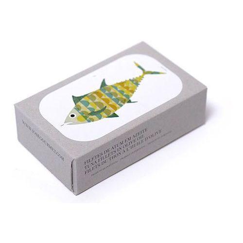Portugalski filet z tuńczyka w oliwie z oliwek extra virgin 125g Jose Gourmet - produkt z kategorii- Konserwy i przetwory rybne