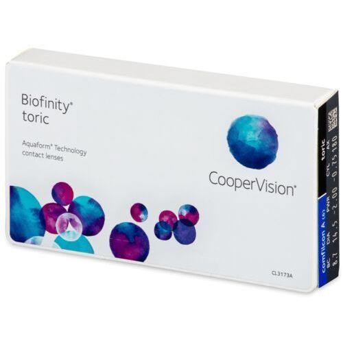 Coopervision Biofinity toric (6 soczewek)