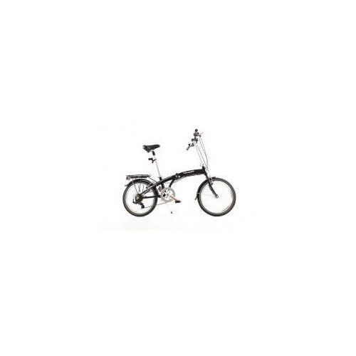 Najlepsze oferty - MIFA Germany Aluminiowy rower składany SKŁADAK MIFA 7- biegów SHIMANO z bagażnikiem i torbą