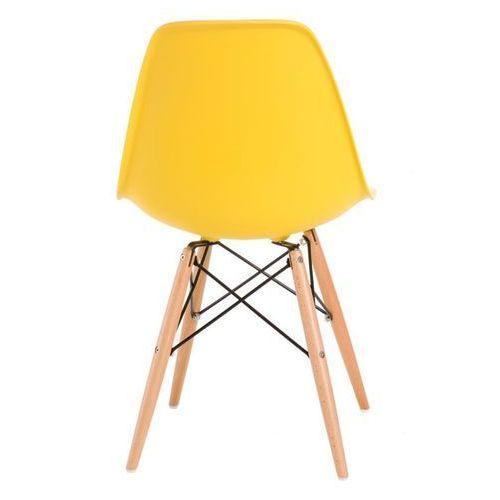 Krzesło P016W PP inspirowane DSW - żółty
