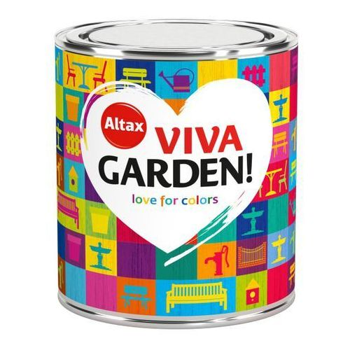 Farba Ogrodowa Viva Garden 0,75L Niezapominajka Altax, kolor Niezapominajka