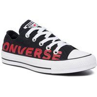 Trampki CONVERSE - Ctas Ox 165430C Black/Enamel Red/White